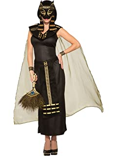 mythical creatures bastet egyptian cat goddess womens adult halloween costume