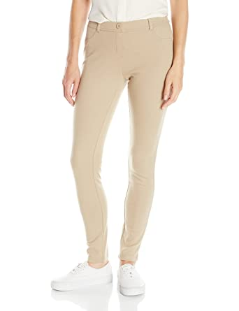 8bebb6e03a40f Amazon.com  IZOD Junior s Uniform Stretch Interlock Jegging  Clothing