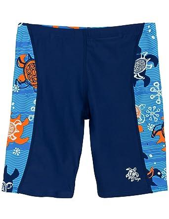 6807ddc9ed129 Amazon.com: Tuga Boys Jammer Swim Short 2-14 Years, UPF 50+ Sun ...