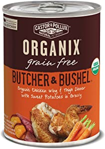 Castor & Pollux Organix Butcher & Bushel Grain Free Organic Canned Dog Food, 12 Count 12.7 Oz