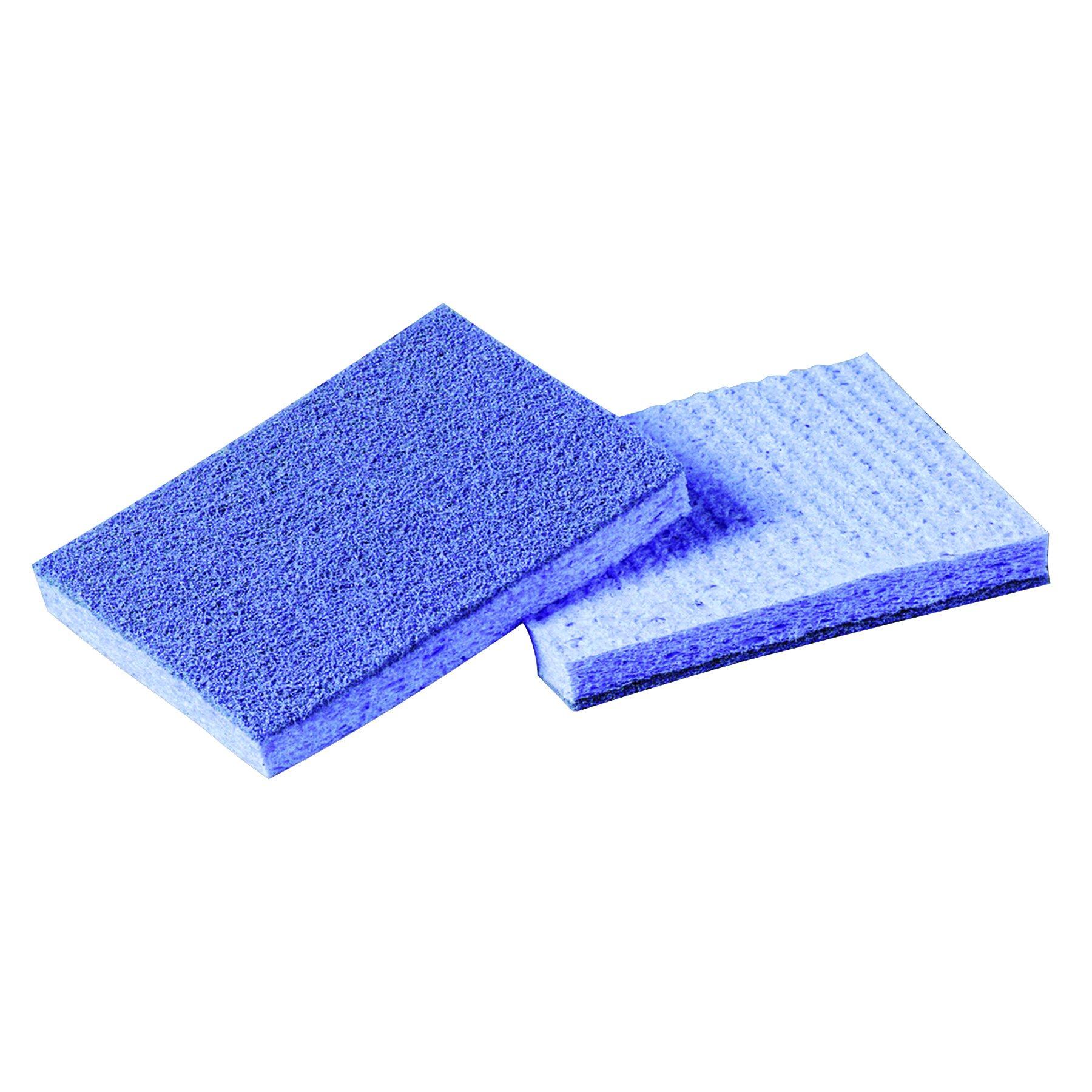 Scotch-Brite PROFESSIONAL 9489 Soft Scour Scrub Sponge, 3 1/2 x 5 in, Blue (Case of 40)