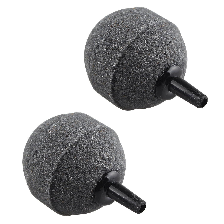 2pcs 40mm Fish Tank Ball Bubble Air Stones Difusor para pecera Tank Acuario Bomba Hidropónica: Amazon.es: Productos para mascotas