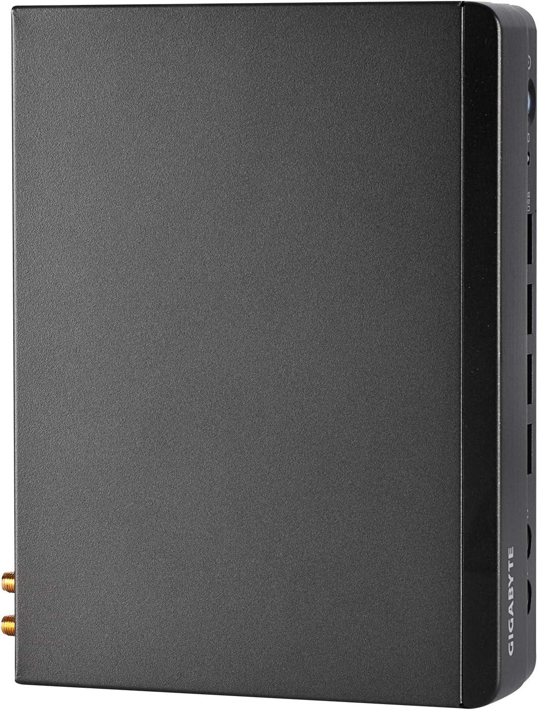 AMD Ryzen V1605B // Integrated Radeon Vega 8 Graphics//Gigabit LAN//Bluetooth//WiFi//HDMI//USB 3.2 GIGABYTE BRIX Ultra Compact Mini-PC GB-BSRE-1605