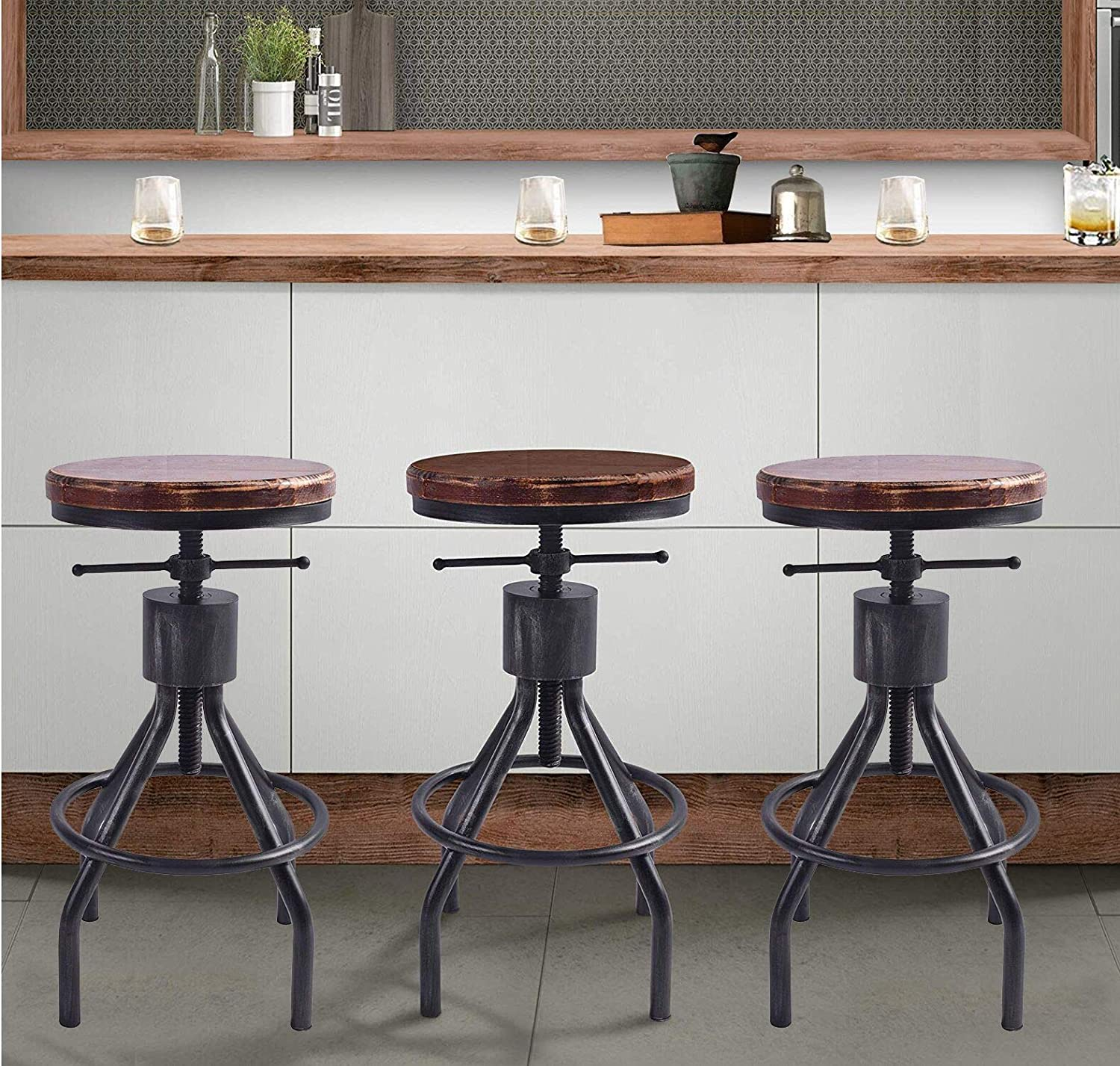 Astounding 51 Unique Bar Stools That Are Cool Addition To Your Kitchen Short Links Chair Design For Home Short Linksinfo