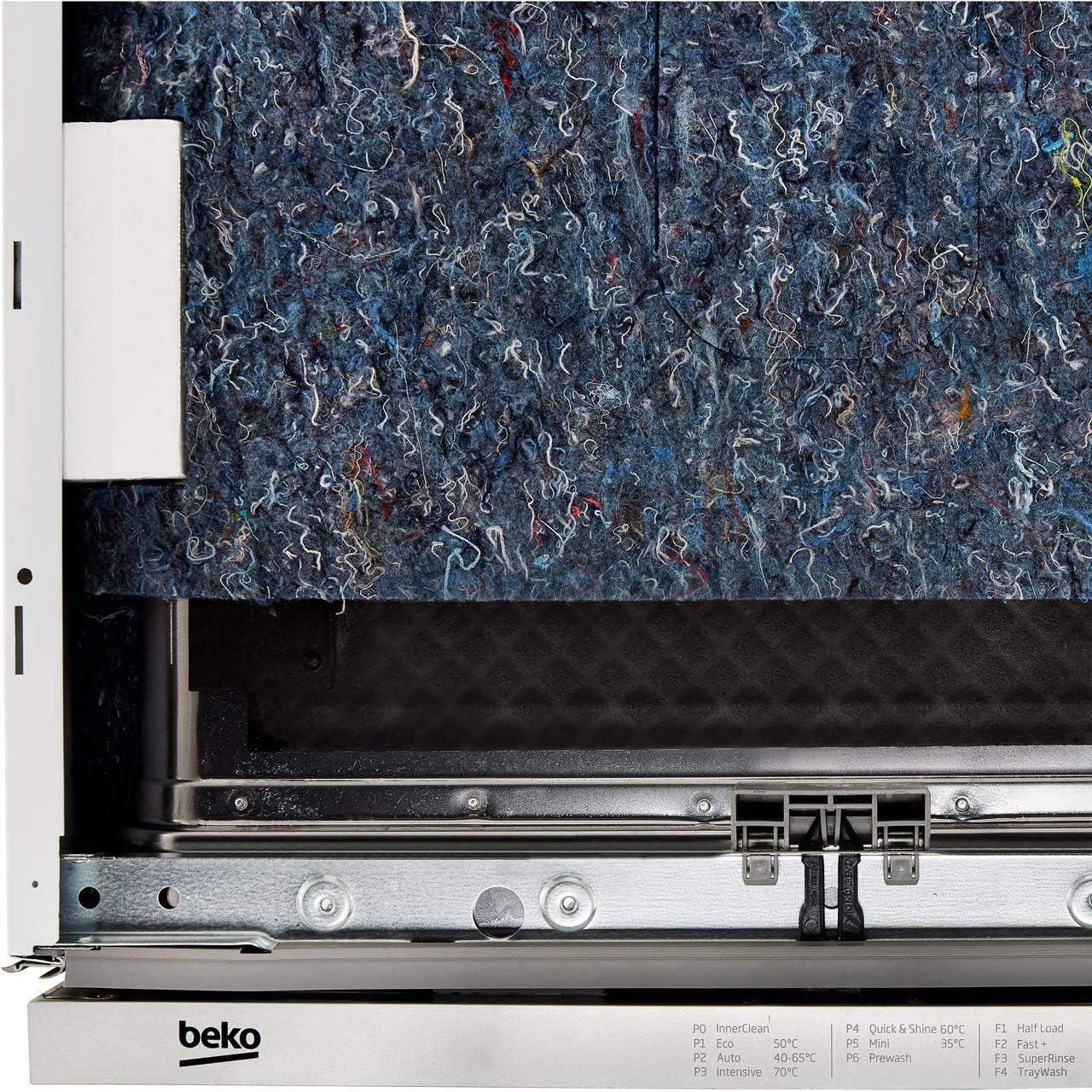 Beko DIN26410 - Lavavajillas estándar totalmente integrado, panel ...