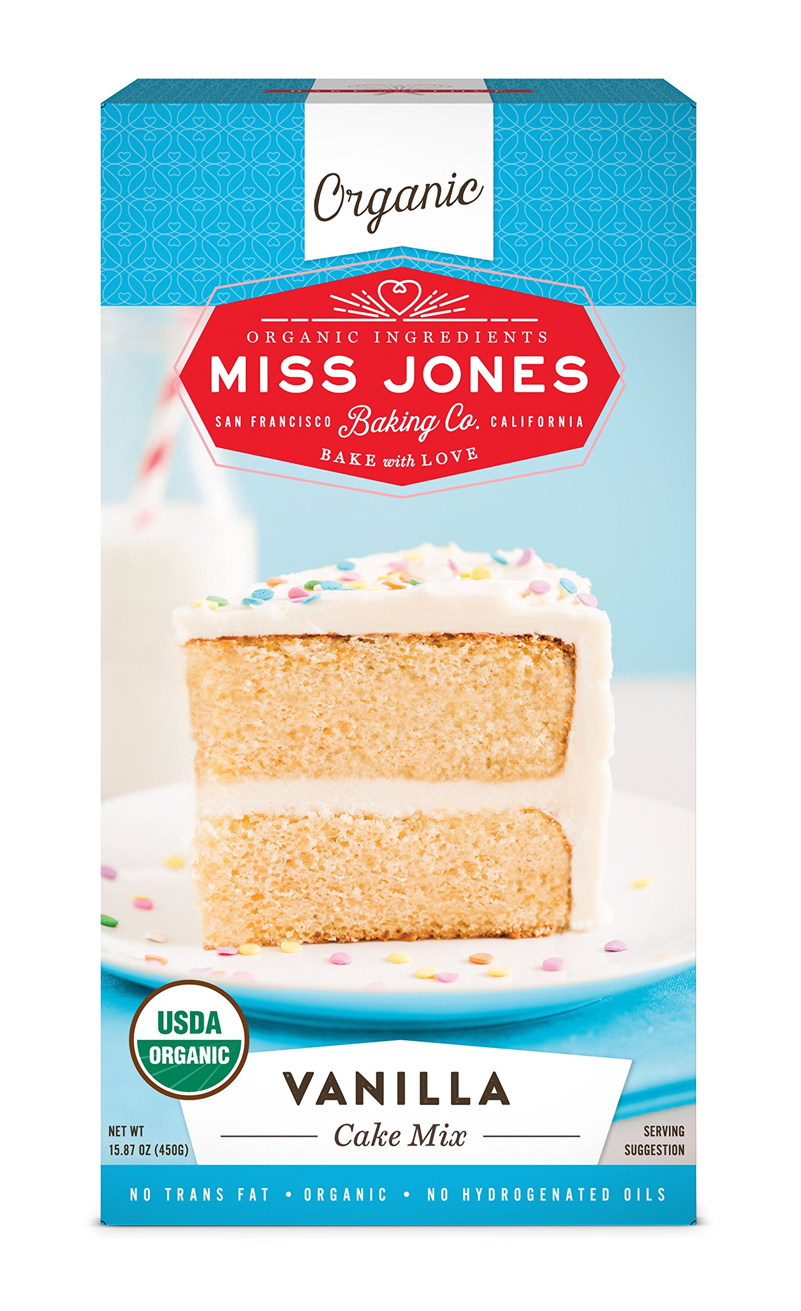 organic cake mix miss jones baking organic frosting 6309