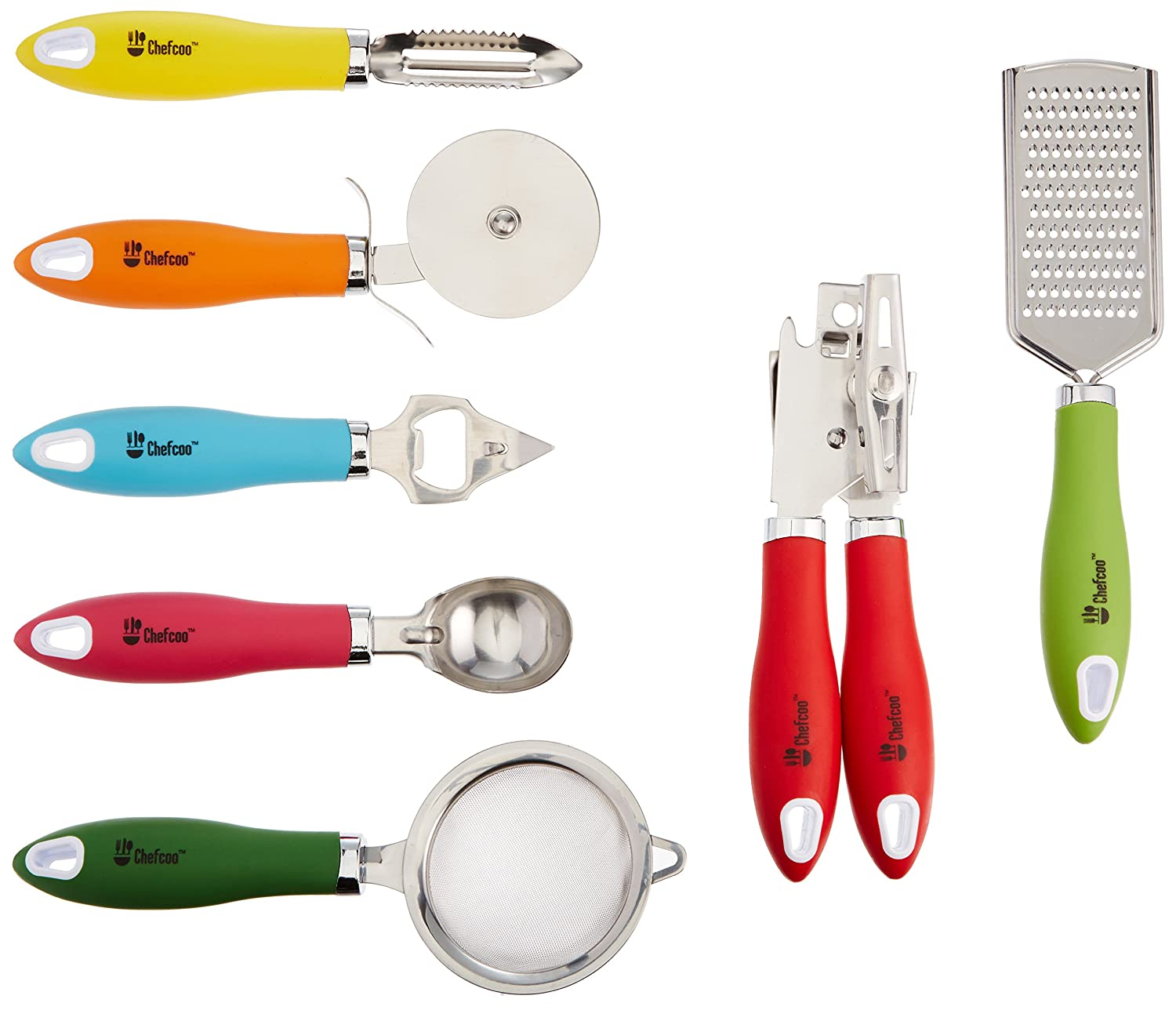 amazon com kitchen gadgets tools set by chefcoo stainless