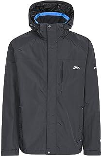 Trespass Men s Edwards II Waterproof Rain Outdoor Jacket with Concealed Hood 13b2c0c666