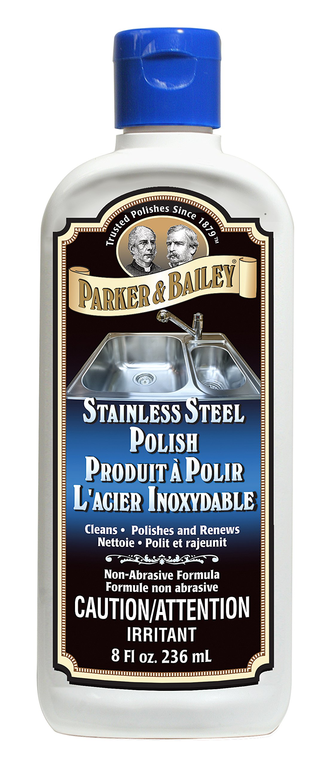 Parker & Bailey Stainless Steel Polish 8oz