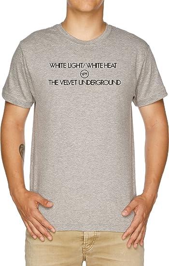 Velvet Underground White Light White Heat Camiseta Hombre Gris