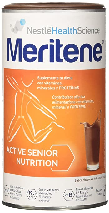 Meritene Protein Taste Chocolate Food Supplement 270g