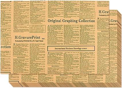 Amazon.com: Pack de 12 hojas de papel de regalo diseño de ...