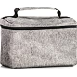 Soft Insulated Lunch Bag Tote: Cooler Lunch Box for Women & Men - Thermo Lunch Bags - Adults & Kids