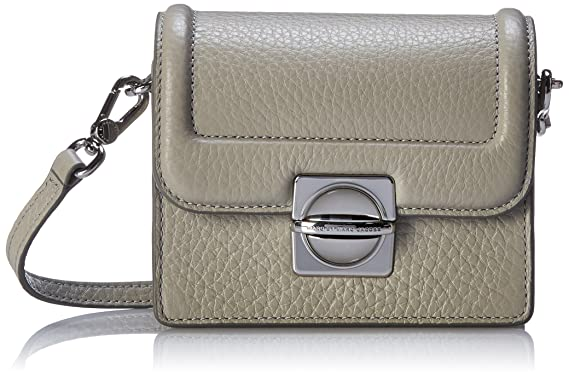 68d748df10804 Amazon.com: Marc by Marc Jacobs Top Schooly Jax Cross Body Bag, Opal ...