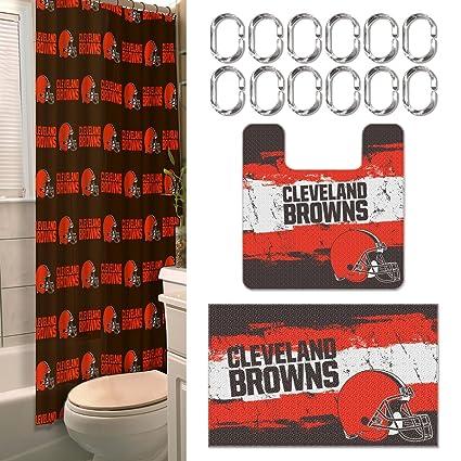 b2ca052d Cleveland Browns 15 Piece Bath Set