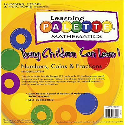 Learning Palette Mathematics Young Children Can Learn! Numbers, Coins, & Fractions: Kindergarten: Toys & Games