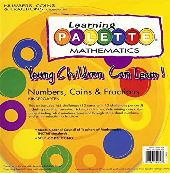 Amazon.com: Young Children Can Learn! Numbers, Coins, & Fractions ...