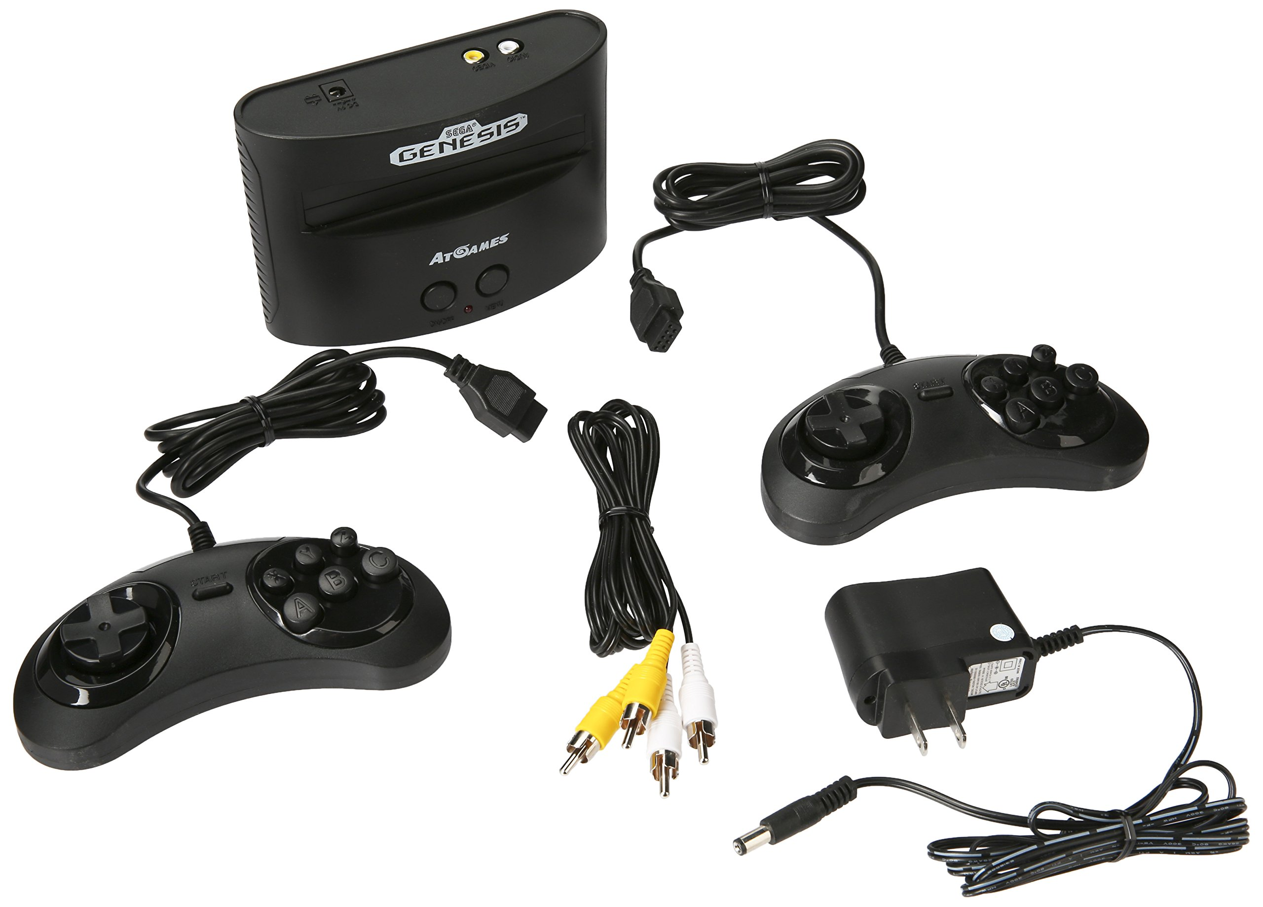 Galleon atgames sega genesis classic game console with - Sega genesis classic game console games ...