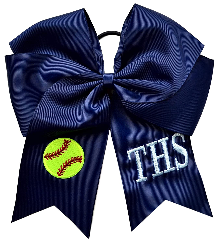 peace softball softball gifts softball bow softball gift softball shoes Interchangeable softball flip flop bows You CHOOSE bow color