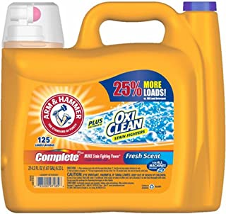 product image for Arm & Hammer Complete with Oxi Clean Liquid Laundry Detergent, 214.2 Fluid Ounce