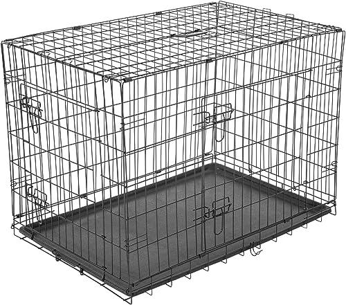 PawHut Hundekäfig Transportkäfig M bis L