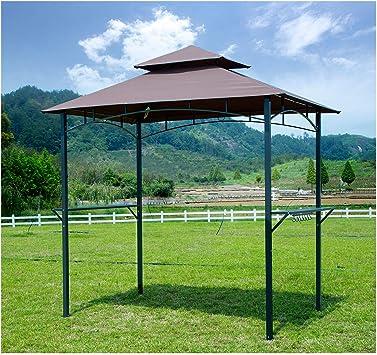 GOJOOASIS Barbacoa toldo Tienda de campaña al Aire Libre Barbacoa ...