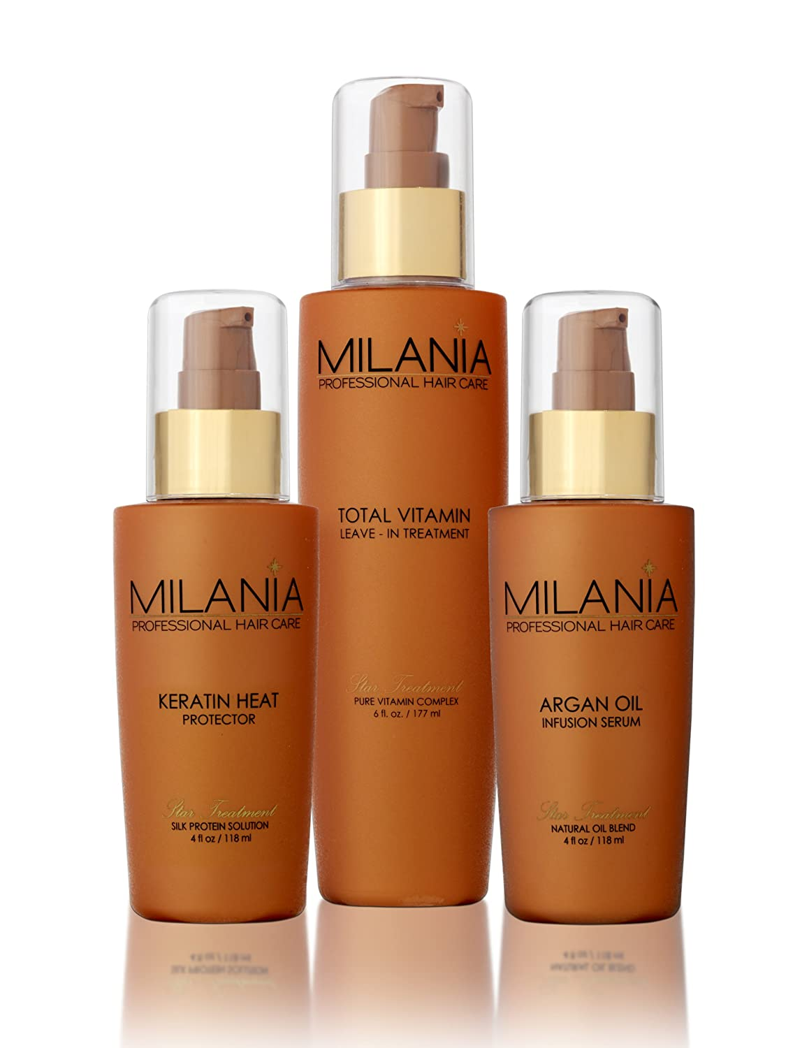 Amazon.com : MILANIA -- Hair Care Natural Blend 3 Piece Set : Beauty
