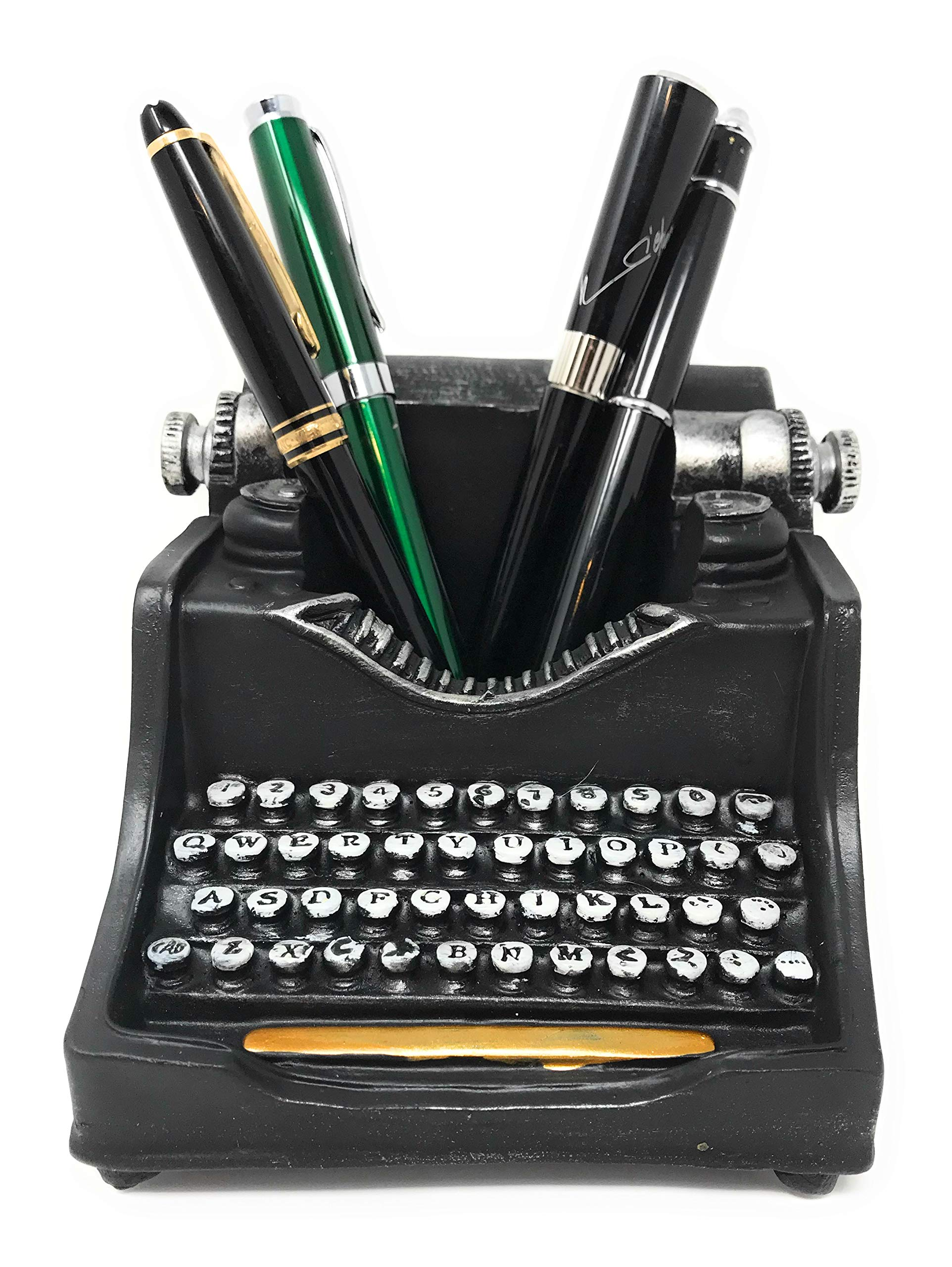 Retro/Shabby Chic/Vintage Pencil Holder for Desk/Desk Organizer for Writer's Desk (Typewriter) by C & C