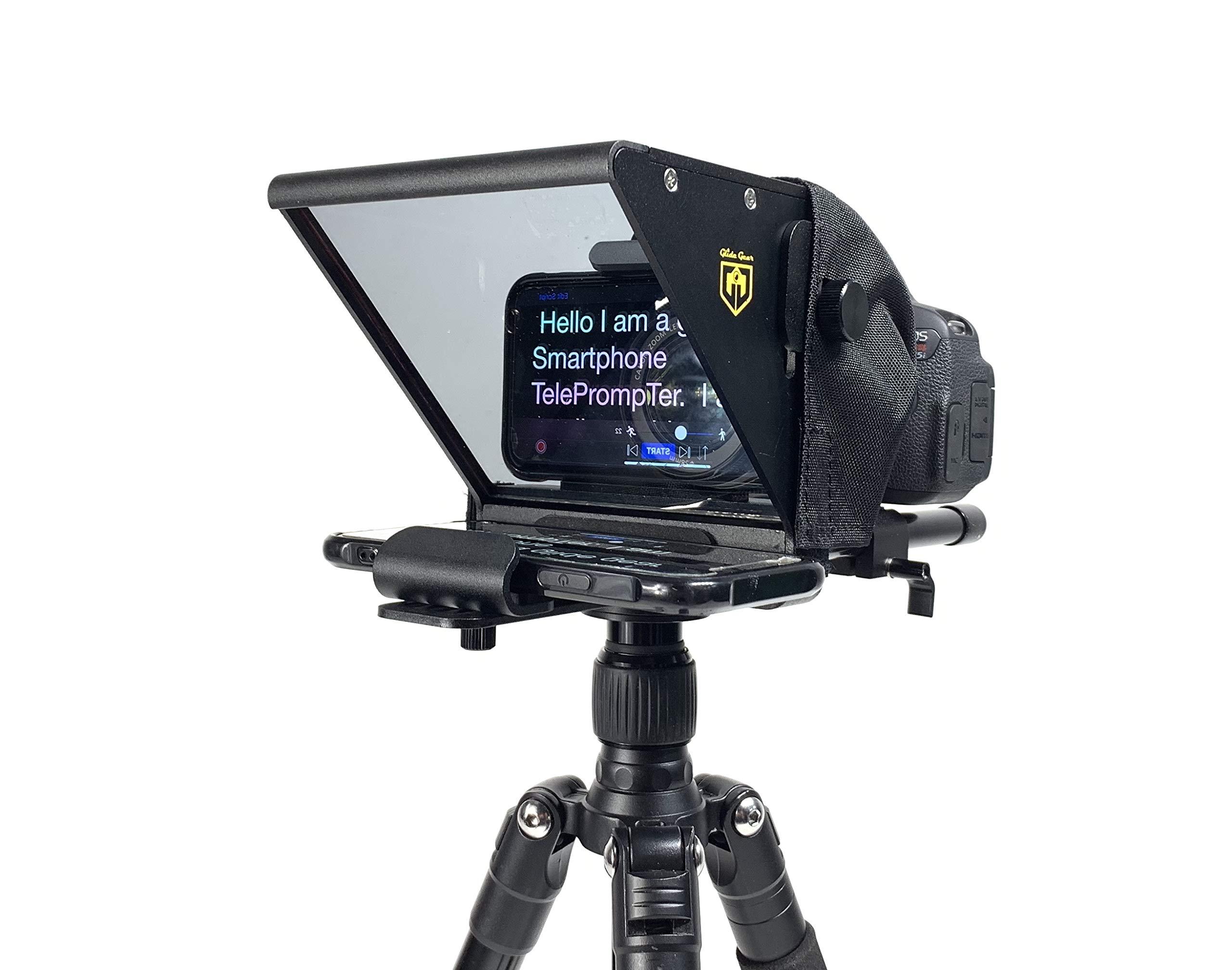 Glide Gear TMP 75 Laptop Smartphone Prompt DSLR Video Teleprompter by Glide Gear