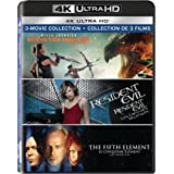 The Fifth Element / Monster Hunter (2020) / Resident Evil - Set [Blu-ray] (Bilingual)