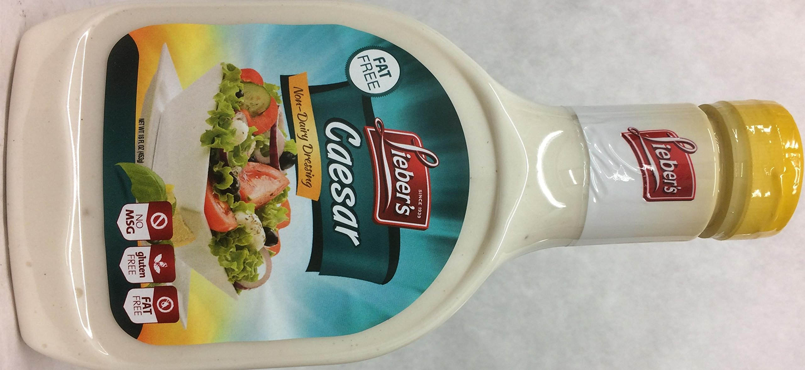 Lieber's Caesar Non-dairy Dressing Kosher For Passover 16 Oz. Pack Of 6.