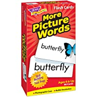 FLASH CARDS MORE PICTURE 96/BOX WORDS