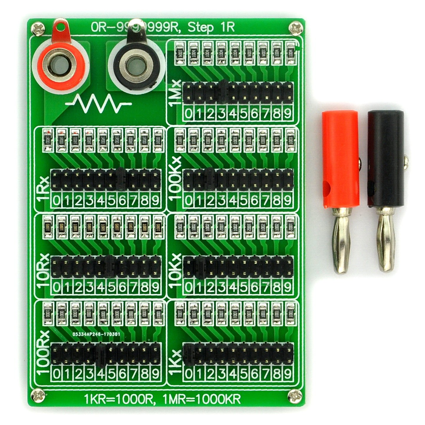 Electronics Salon 1r 9999999r Seven Decade Freshly Cut Circuit Boards Are Beautiful Pinterest Programmable Resistor Board Step 1 4w Industrial Scientific