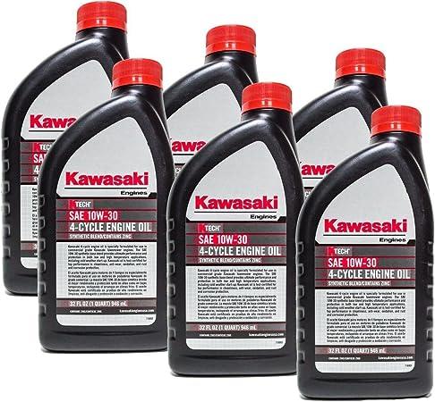 Amazon.com: Kawasaki 6pk Quart Original de OEM Motor de 4 ...