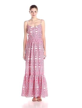 Betsey Johnson Women's Printed Maxi Dress at Amazon Women's ...