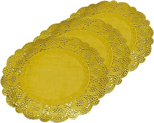 "200 5/"" Round White Lace Paper Doily Doilies Party Decoration Elegant Accent"