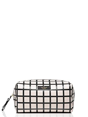 16a5ee59d5d9 Amazon.com   Kate Spade NY Brightwater Drive Medium Davie Cosmetic Case   Cosmetic  Bags   Beauty