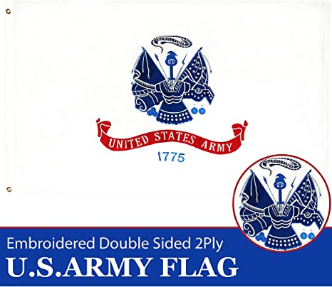 "/""US ARMY/"" flag 3x5 ft military united states america troop 1775"