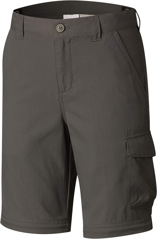 2X-Small//S Grill Columbia Childrens Silver Ridge Iii Boys Silver Ridge III Convertible Pants