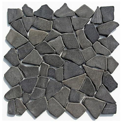 M 001 Marmor Stein Mosaik Bruchstein Fliesen Lager Verkauf Herne NRW  Naturstein Badezimmer Wand