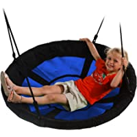 "Swing-N-Slide WS 4861 Nest Swing with 40"" Diameter, Blue"