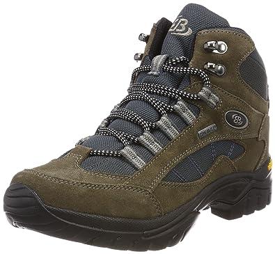 Bruetting Unisex-Erwachsene Chimney Rock Trekking-& Wanderstiefel, Braun (Braun/Grau Braun/Grau), 44 EU