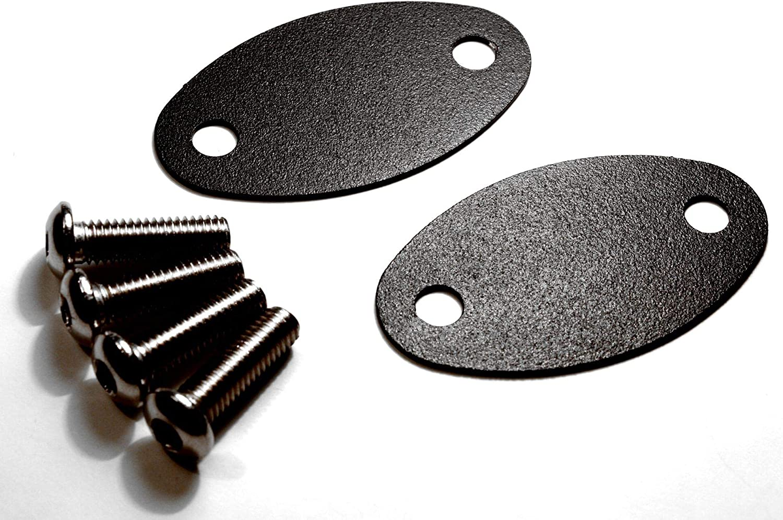 Mirror Block Plates for the Kawasaki Ninja ZX-6R / ZX-10R