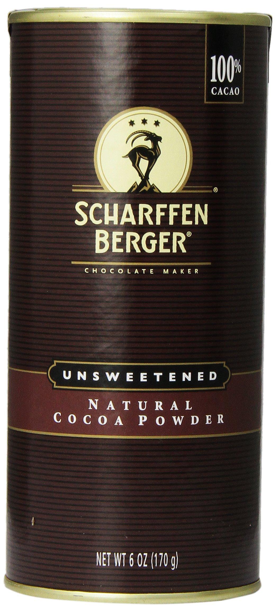 SCHARFFEN BERGER Cocoa Powder, 6oz, Naturally Unsweetened