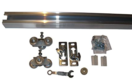 Series 2 HBP Heavy Duty Pocket Door Track And Hardware Kit (48u0026quot;)