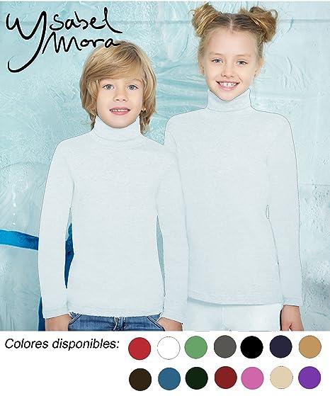 YSABEL MORA - Camiseta C/Cisne Termal niñas Color: Blanco Talla: 2
