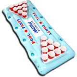 Ultimate Plilow Giant Blow Up Inflatable Beer Pong Pool Party Table Amazing Lilo Swimming Pool Fun Beach Air Bed Float