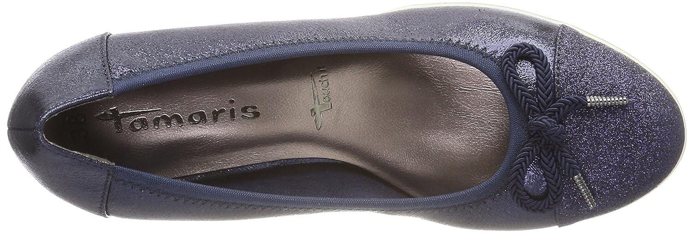 Tamaris 22461 Damen Pumps Blau Comb) (Navy Comb) Blau feda96