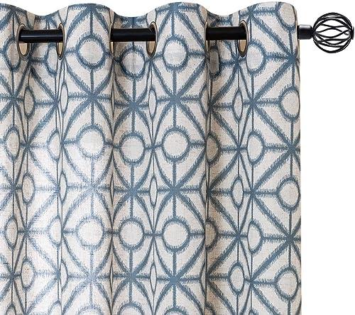 jinchan Linen Textured Curtains