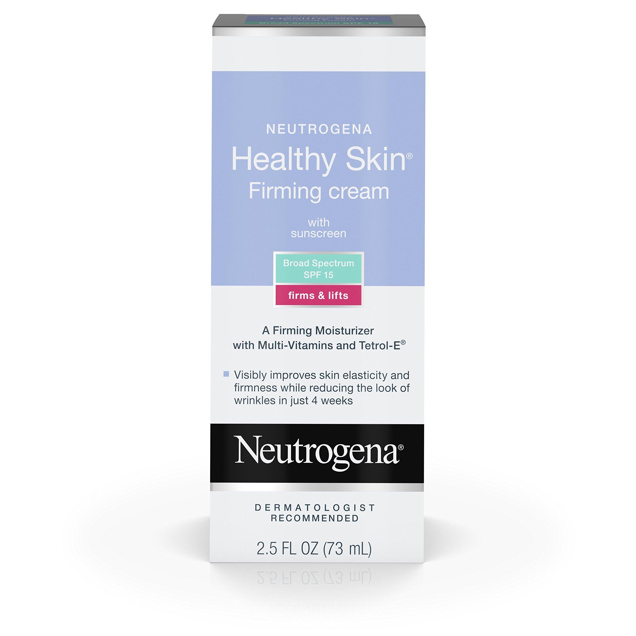 Neutrogena Healthy Skin Firming Cream SPF 15, 2.5 Fl. Oz